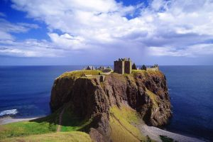 GB dunnottar castle