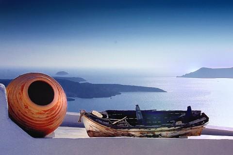 A ZONZO TRA LE CICLADI Santorini+Paros+Amorgos