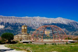 ALBANIA 5 montane girokastro