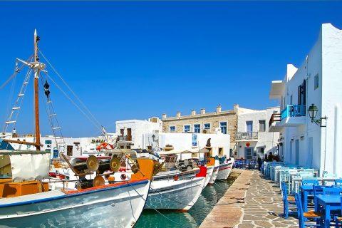 ALLA SCOPERTA DELLE CICLADI Estate 2018  Mykonos-Naxos-Paros-Mykonos