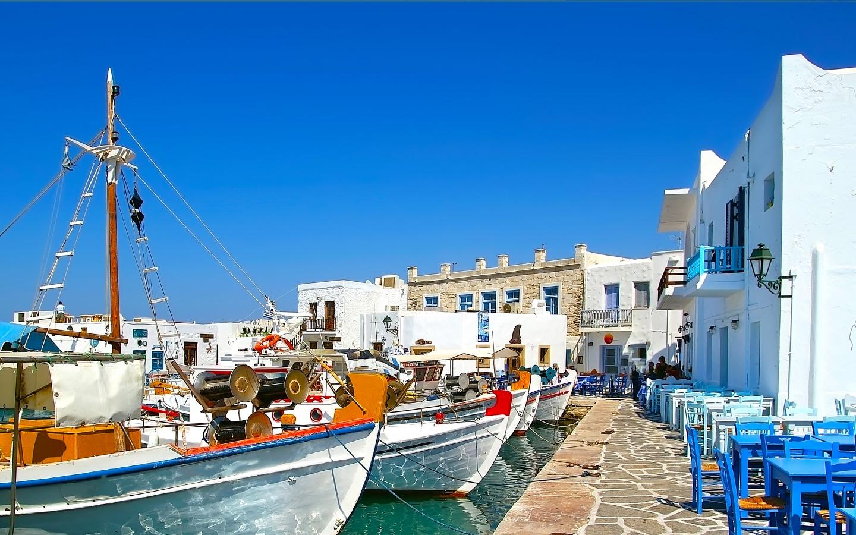ALLA SCOPERTA DELLE CICLADI Estate 2019  Mykonos-Naxos-Paros-Mykonos